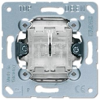 Dviejų klavišų mygtukinis jungiklis perjungiklis