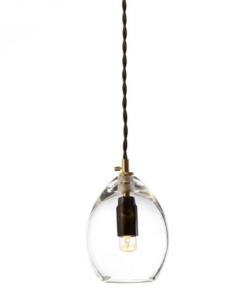 Lubinis stiklo šviestuvas UNIKA SMALL