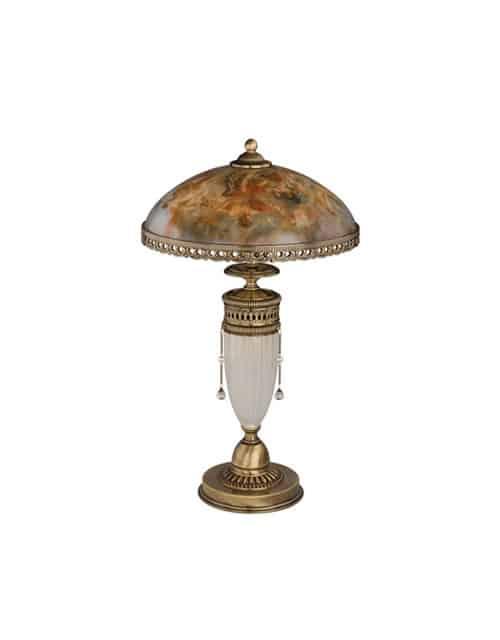 Stalo šviestuvas su stikliniu gaubteliu BIBIONE