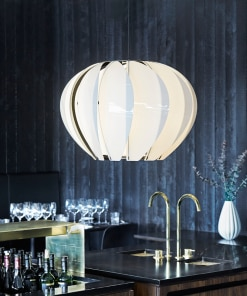 Lubinis pakabinamas šviestuvas ARKITURBINE restorane
