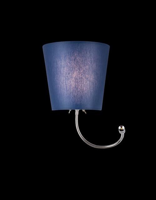 Sieninis šviestuvas BARI su LED