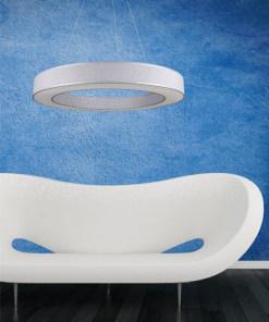 Lubinis pakabinamas šviestuvas Ramko TUBUS LED interjere