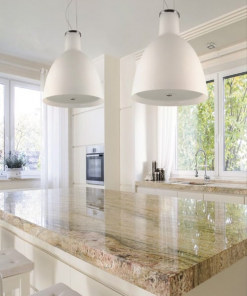 Lubinis pakabinamas šviestuvas stiko gaubtu Ramko INA MAX Virtuvėje