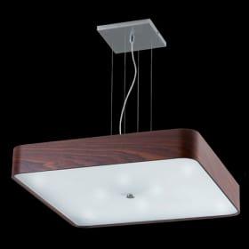 Medinis lubinis pakabinamas šviestuvas Ramko DOMINO