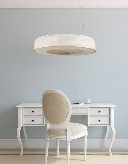 Lubinis pakabinamas šviestuvas TUBUS LED darbo kambaryje
