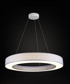 Lubinis pakabinamas šviestuvas Ramko TUBUS LED įjungtas