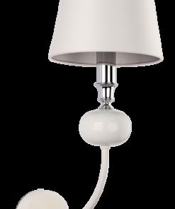 Sieninis šviestuvas emale dekoruota kojele NARNI