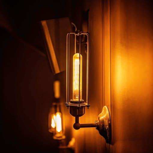 Alavo spalvos cilindro formos sieninis šviestuvas ORLANDO
