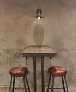 Alavo spalvos skėčio formos sieninis šviestuvas BROOKLYN bare