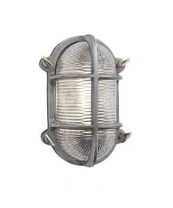 Ovalus sieninis šviestuvas BROOKLYN, įjungtas