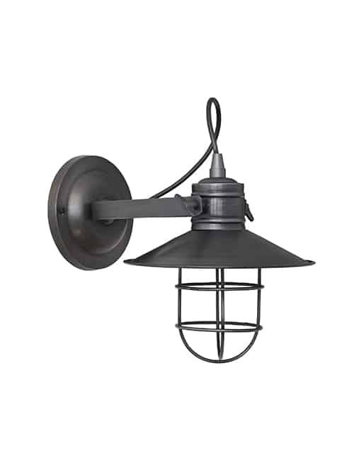 Alavo spalvos reguliuojamas sieninis šviestuvas HARBOUR, be lemputės