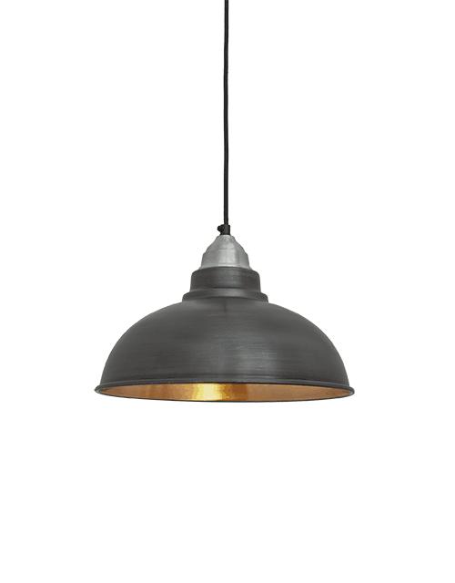 Alavo ir vario spalvos lubinis pakabinamas šviestuvas OLD FACTORY