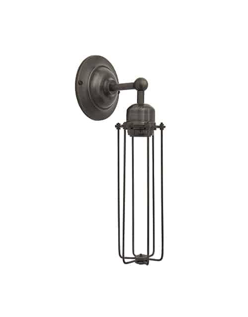Alavo spalvos cilindro formos sieninis šviestuvas ORLANDO, be lemputės