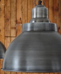 Alavuotas gaubto formos lubinis pakabinamas šviestuvas BROOKLYN