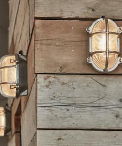 Ovalus sieninis šviestuvas BROOKLYN lauke