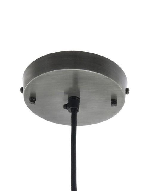 Žalvarinis gaubto formos lubinis pakabinamas šviestuvas BROOKLYN tvirtinimo prie lubų pagrintas