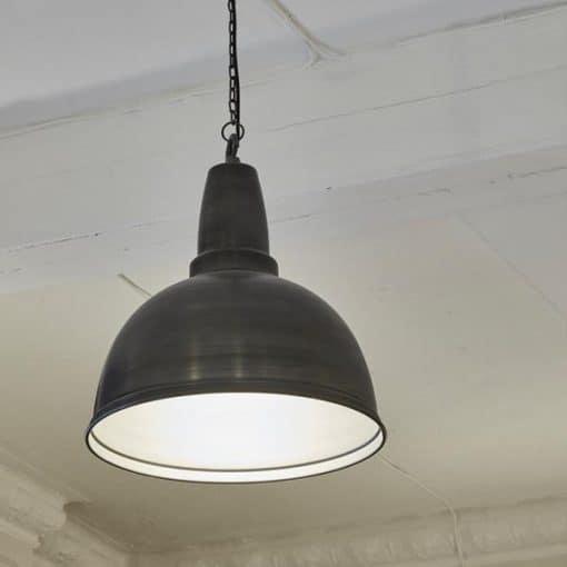 Alavo spalvos lubinis pakabinamas šviestuvas RETRO interjere
