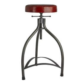 Reguliuojama baro kėdė su odiniu pagrindu COOPER