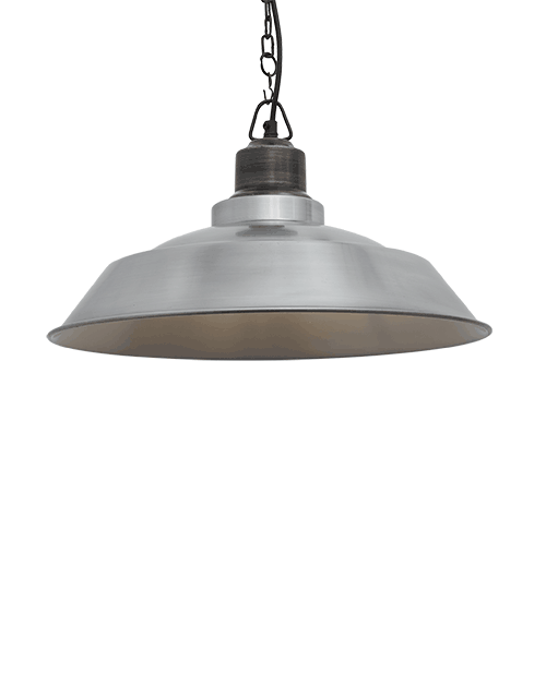 Šviesaus alavo spalvos lubinis pakabinamas šviestuvas STEP su tamsios spalvos grandine