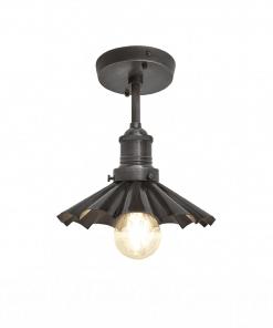 Alavo spalvos skėčio formos lubinis šviestuvas BROOKLYN su alaviniu laikikliu