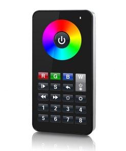 8-zonų LED RGBW/Y šviesos reguliavimo pultas su WiFi&RF nuotoliniu valdymu SR-2818