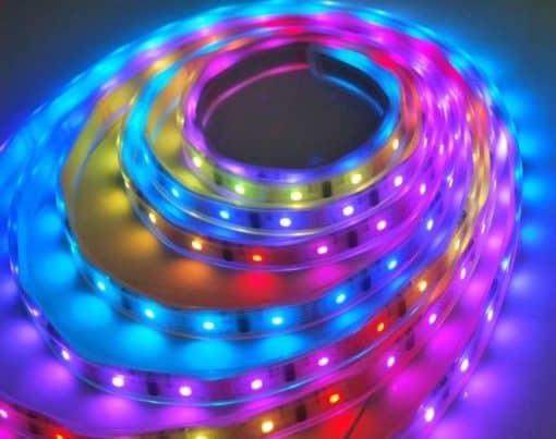 Hermetiška LED juosta 12W/m RGB