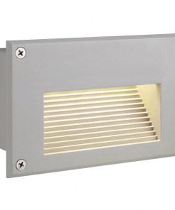 1.4W sieninis plytos dydžio įmontuojamas LED šviestuvas SLV IP54