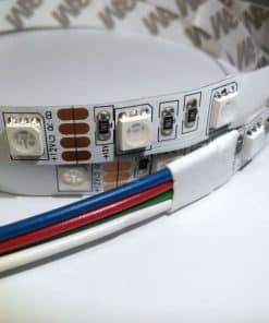 10W/m LED juosta SMD5050, 60 LED/m, RGB, 12V, IP67