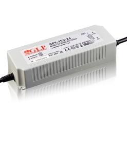 144W LED maitinimo šaltinis GLP 24V, IP67