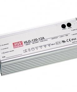 120W LED Maitinimo šaltinis Mean Well 12V IP67, dimeriuojamas