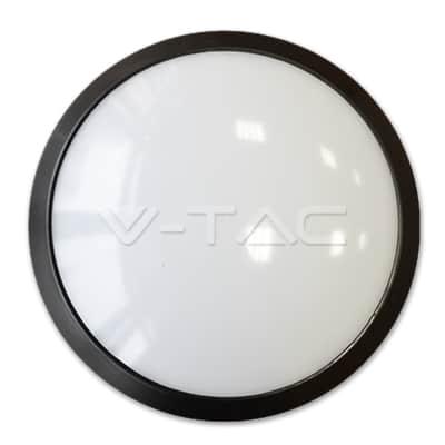 12W apvalus paviršinis LED šviestuvas V-TAC su judesio davikliu