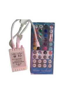 LED juostos valdiklis skirtas RGB + 6000K LED juostai, 6A