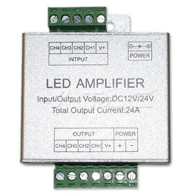 LED stiprintuvas V-TAC juostai RGB + 6000K