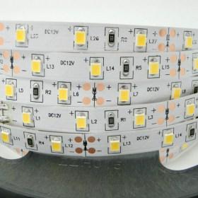 16W/m LED juosta LUXSONN, 2835, 60 LED/m, 1580lm/m, (3000K) šiltai balta, IP67