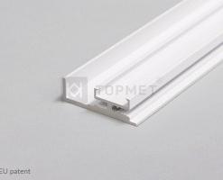 1m LED juostos profilio AMBI12, baltas