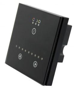 LED juostos dimeris montuojamas į sieną