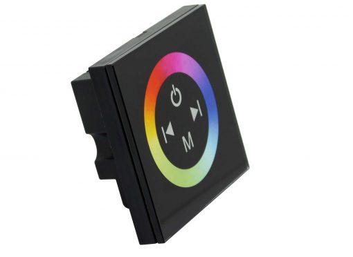 LED juostos RGB valdiklis montuojamas į sieną