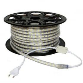 14,4 W/m, 220V LED juosta, 60LEDs/m, 6000K (šaltai balta), IP65
