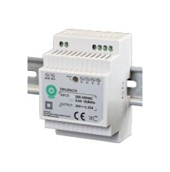 30W LED Maitinimo šaltinis POS DIN30W12
