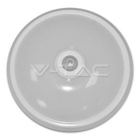 12W Kupolo tipo šviestuvas su judesio davikliu V-TAC 6000K