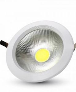 20W apvalus nedimeriuojamas LED šviestuvas COB lustas