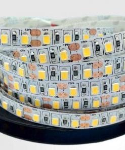 12 W/m LED juosta SMD2835, 120 LED/m, (3000K) šiltai balta, IP67