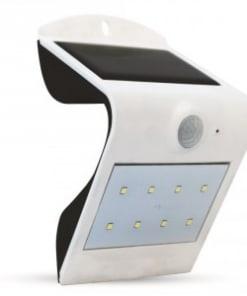 1.5W LED sieninis šviestuvas V-TAC su saulės baterija
