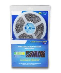 10,8 W/m LED juosta, 5050, 60 LED/m, neatspari drėgmei (IP20), RGB