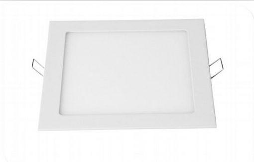 24W kvadratinė įleidžiama LED panelė su maitinimo šaltiniu