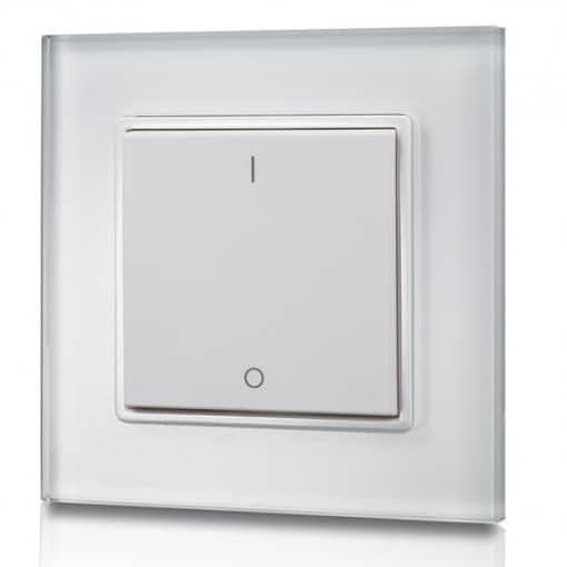1 zonos LED šviesos reguliatorius RF montuojamas ant sienos SR-2801K1