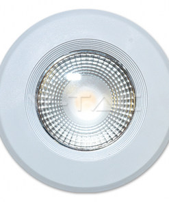 20W apvalus įleidžiamas LED šviestuvas su aliuminio korpusu