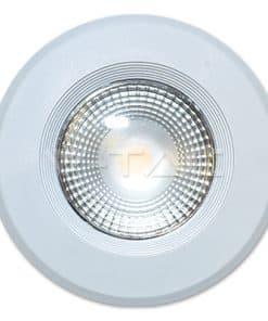 40W apvalus LED šviestuvas V-TAC 3000K šiltai balta šviesos spalva