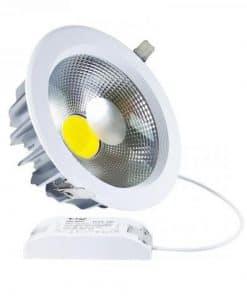 20W apvalus LED šviestuvas šviečiantis dienos šviesos spalva