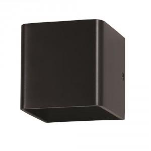 Juodas kvadratinis LED šviestuvas V-TAC